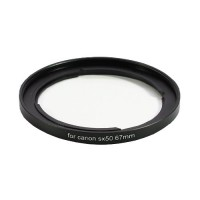 OEM 67mm Adapter Ring for Canon PowerShot SX50 HS SX40 HS SX30 IS SX20 IS SX10 IS